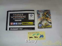 Takara TOMY Transformers Masterpiece MP-45 Bumble Ver. 2.0 From Japan