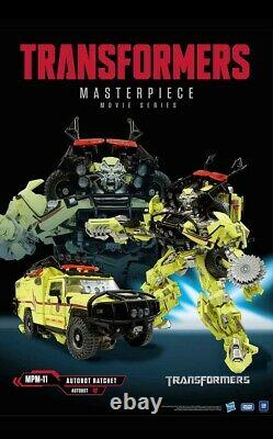 Takara Tomy Masterpiece Movie Series MPM-11 Ratchet Transformers in stock