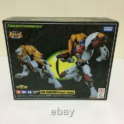 Takara Tomy Transformers Masterpiece MP-48 Lio convoy Action Figure Used F/S