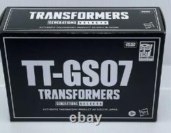 Transformers Generations Selects TT-GS07 OVERBITE Exclusive Action Figure Seacon
