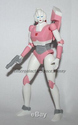 Transformers Licensed Takara Tomy G1 Arcee 10 Poseable Action Figure