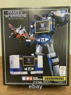 Transformers Masterpiece MP13 SOUNDWAVE Action Figure Takara Tomy from Japan