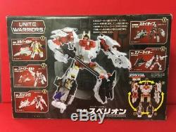 USED Transformers Unite Warriors UW-01 Superion Action Figure Takara Tomy F/S