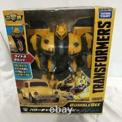 Takara Tomy Transformers Power Charge Bumblebee Du Japon F/s