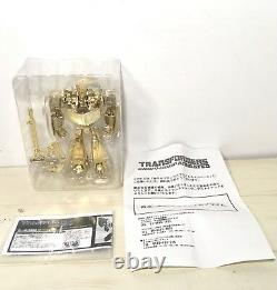 Transformers Gold Optimus Prime Animated Lucky Draw Jp Exclusive Takara Tomy Mib